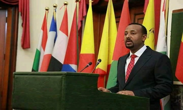 Dr. Abiy Ahmed inauguration ceremony at the Ethiopian Parliament